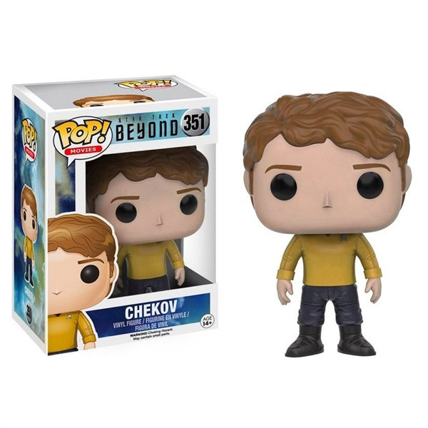 Star Trek Beyond Chekov Pop Vinyl Figure