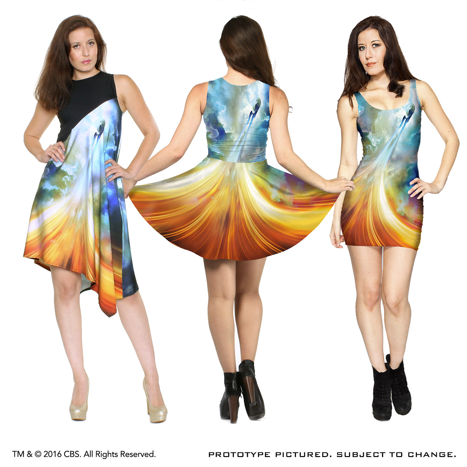 The dress and beyond - This 80 Polyester 20 Lycra Dress Goes Beyond Fashion With Star Trek Beyond Because This Dress Goes Beyond One Style Letting You Choose From A Line