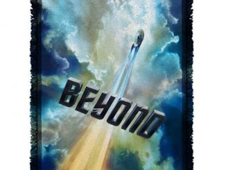 Star Trek Beyond Into The Clouds Woven Tapestry Throw Blanket