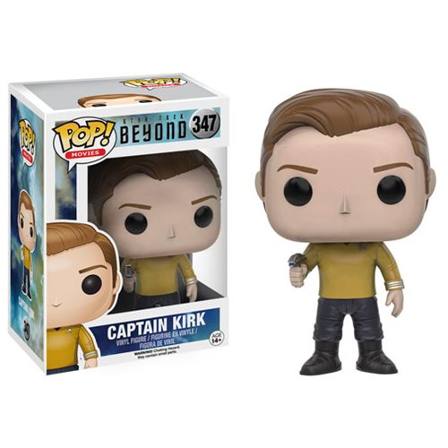 Star Trek Beyond Kirk Pop Vinyl Figure