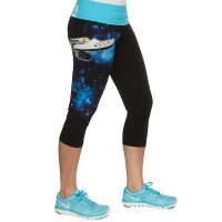 Star Trek Boldly Go Capri Yoga Pants