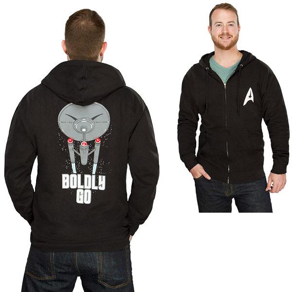 Star Trek Boldly Go Hoodie