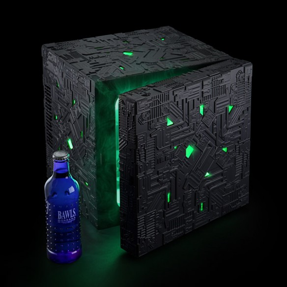 Star Trek Borg Cube Fridge