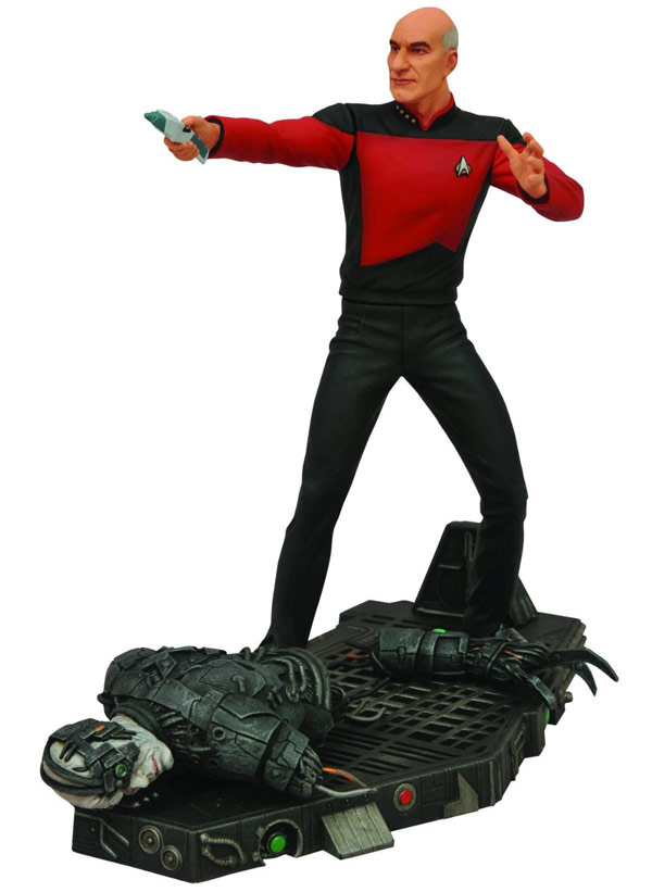 Star Trek Captain Jean Luc Picard Figure