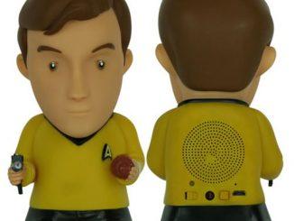 Star Trek Captain Kirk Bluetooth Speaker