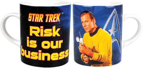 Star Trek Captain Kirk Coffee Mug