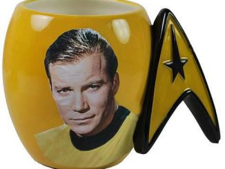 Star Trek Captain Kirk Delta Shield Mug