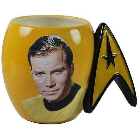 Star Trek Captain Kirk Delta Shield Mug
