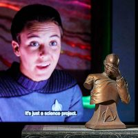 Star Trek Captain Picard Facepalm Bust Bronze Edition