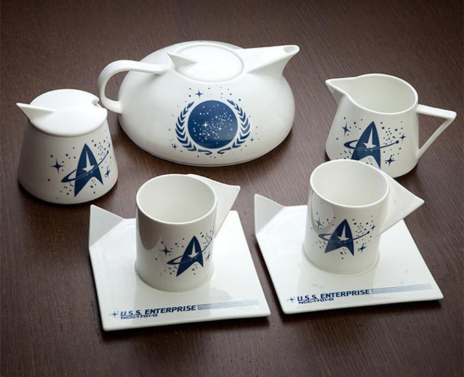 Star Trek Captain's Tea Set
