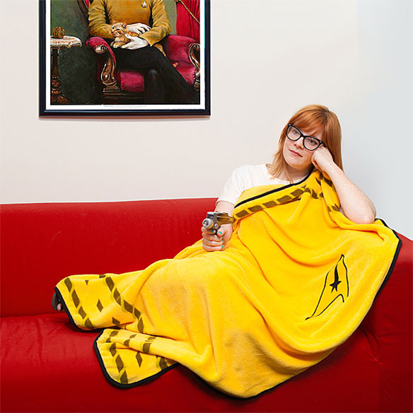 Star Trek Captain Uniform Blanket