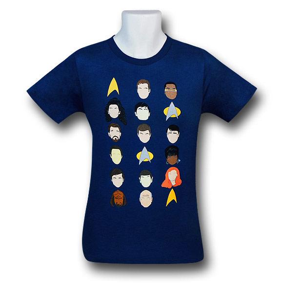 Star-Trek-Casts-Heads-30-Single-T-Shirt