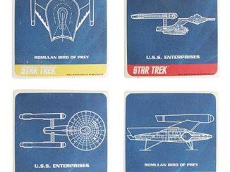 Star Trek Ceramic Coaster 4-Pack