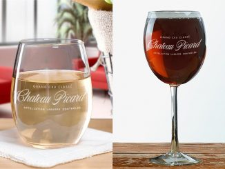Star Trek Chateau Picard Logo Wine Glasses