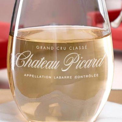 Star Trek Chateau Picard Stemless Wine Glass