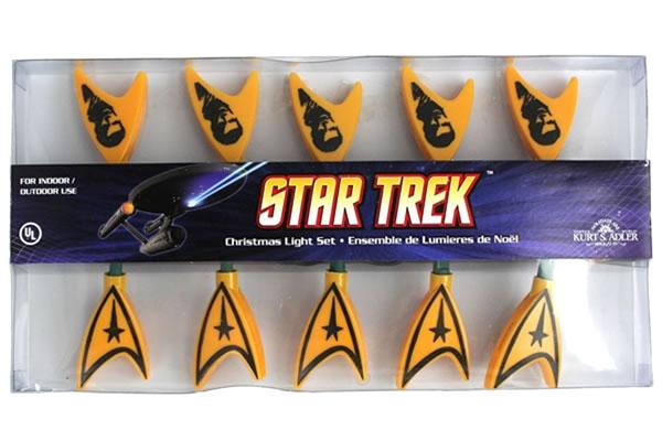 Star Trek Christmas Light Set