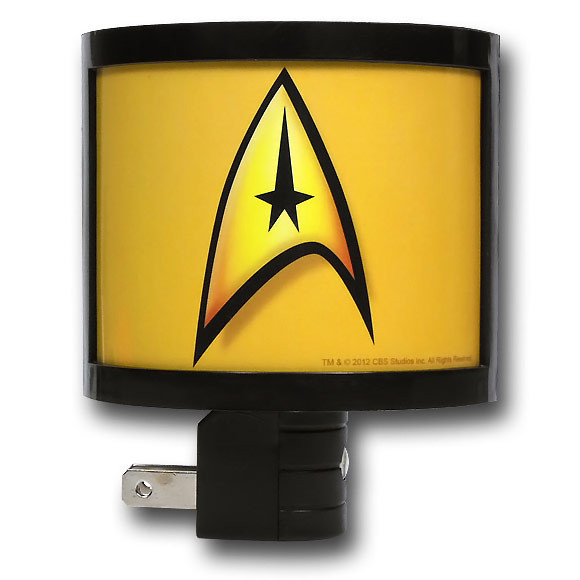 Star Trek Command Insignia Nite Lite