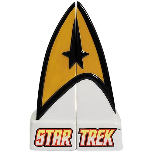 Star Trek Command Insignia Salt and Pepper Shakers