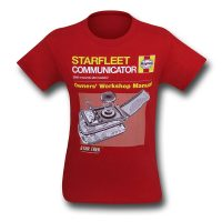 Star Trek Communicator Manual T-Shirt