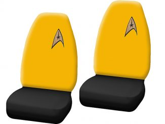 Star Trek Delta Logo High Back Bucket Seat Cover