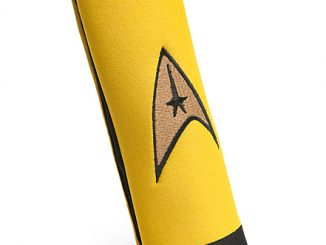 Star Trek Delta Logo Seat Belt Cover Pad Captain