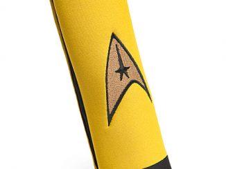 Star Trek Delta Logo Seat Belt Cover Pad Captain