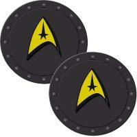 Star Trek Delta Symbol Auto Coasters 2-Pack
