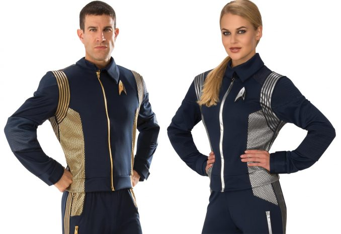 Star Trek Discovery Command & Science Uniforms