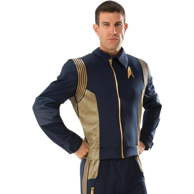 Star Trek Discovery Gold Command Uniform