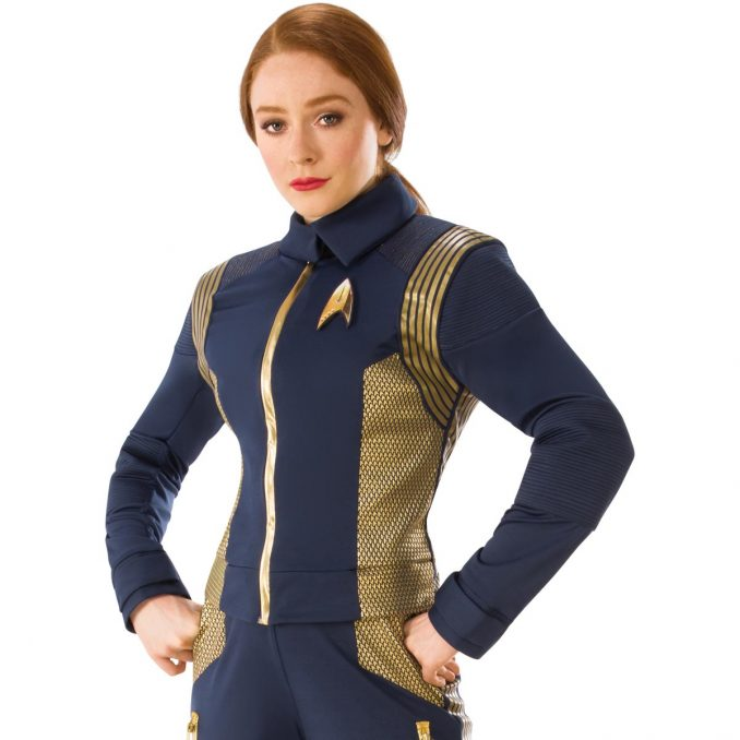 Star Trek Discovery Gold Command Women's Uniform