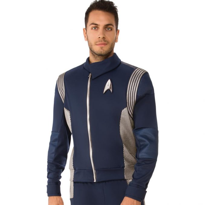 Star Trek Discovery Silver Science Uniform