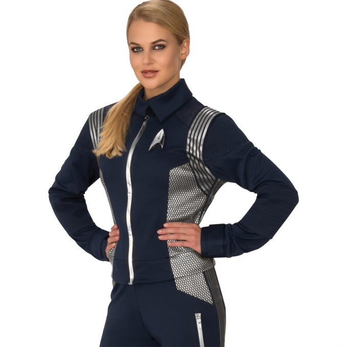 Star Trek Discovery Silver Science Women's Uniform
