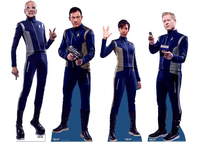 Star Trek Discovery Standees