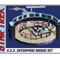 Star Trek Enterprise Bridge Model Kit