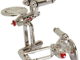 Star Trek Enterprise Cuff Links