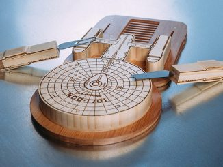 Star Trek Enterprise Cutting Board