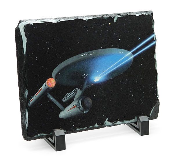 Star Trek Enterprise Granix Art Plaque