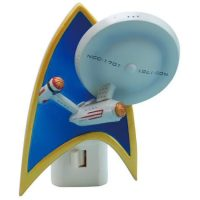 Star Trek Enterprise Resin Nightlight