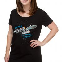 Star Trek Enterprise Ship Sleep Shirt