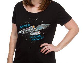 Star Trek Enterprise Ship Sleep Shirt