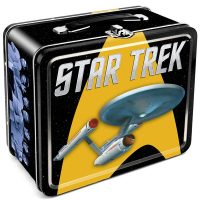 Star Trek Enterprise Tin Lunch Box