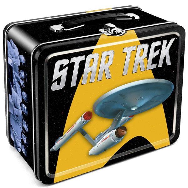 Star Trek Enterprise Tin Lunch Box
