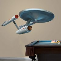 Star Trek Enterprise Wall Cling