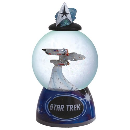 Star Trek Enterprise Water Globe