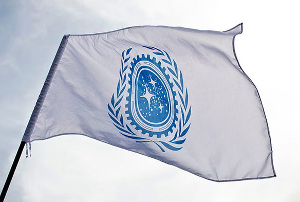 Star Trek Federation Flag Exclusive