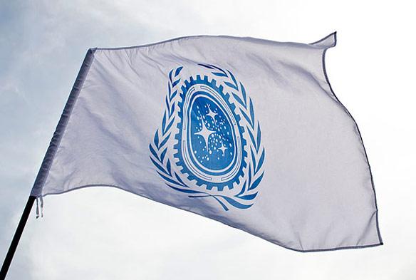 Star Trek Federation Flag Exclusive