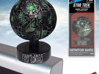 Star Trek First Contact Borg Sphere Monitor Mate Bobble Ship