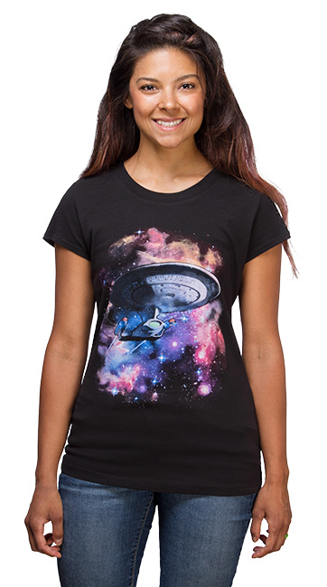 Star Trek Galaxy Ladies Tee