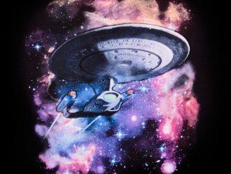 Star Trek Galaxy Ladies Tee