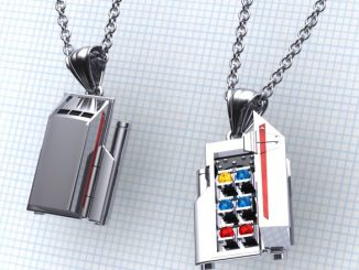 Star Trek Galileo Shuttlecraft Necklace